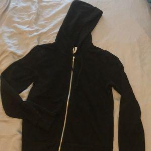 Basic h&m sweater zip up